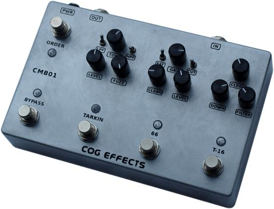 Cog Effects Custom Bass Guitar Multi-Effects Pedal