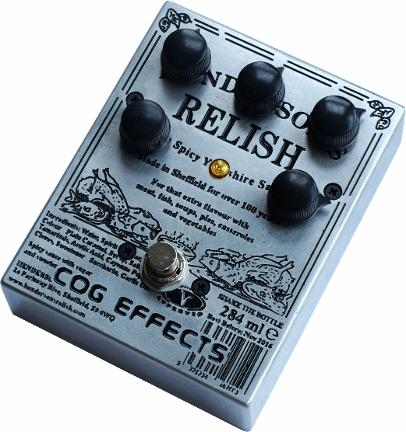 Cog Effects Custom Grand Tarkin Bass Fuzz with custom Engraved Henderson's Relish Artwork because Sheffield is awesome