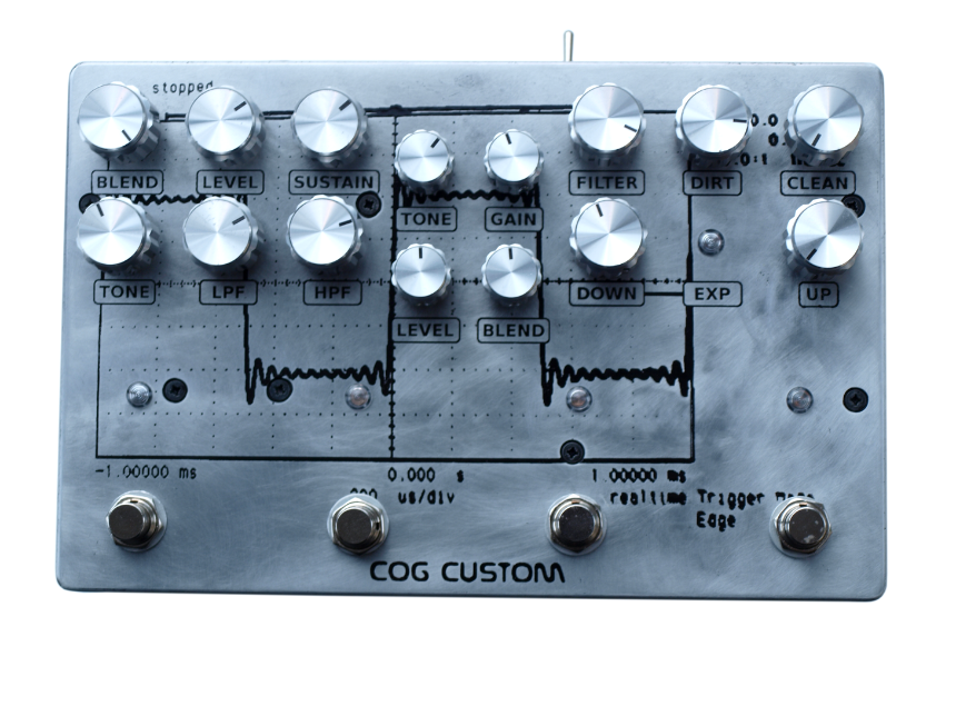 Cog Custom - Custom Effects Pedal with Knightfall, Grand Tarkin Bass Fuzz and parallel T-65 Octave
