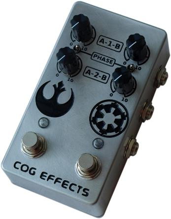 Cog Effects Custom Blend Guitar Effects Pedal