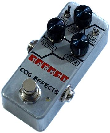 Cog Effects - Stock Effects Pedal - Tarkin Fuzz - Engraved Enclosure
