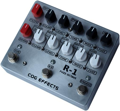 Cog Effects - Stock Effects Pedal - R-1 Fuzz Octave Bass Guitar Effects Pedal Rogue One