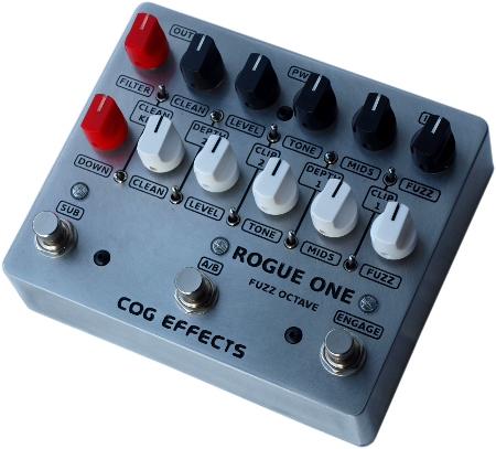 Cog Effects - Rogue One Fuzz Octave Bass Guitar Effect Pedal