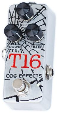 Cog Effects - Stock Effects Pedal - T-16 1590A Analogue Octave - Engraved Enclosure