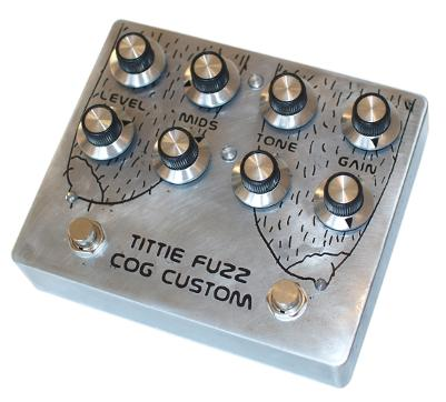 Cog Effects - Stock Effects Pedal - Wet Nuns Fuzz - Etched Enclosure