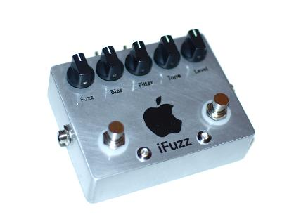 Cog Custom - Custom Effects Pedal - iFuzz Silicone Fuzz and Octave - Etched Enclosure