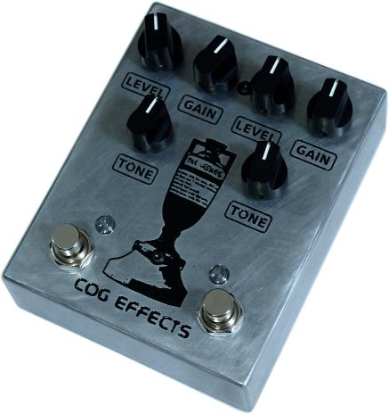 Cog Effects Custom Dual Knightfall Distortion with Engraved Ashes England vs Australia Cricket