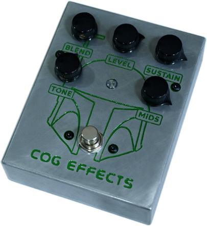 Cog Effects Custom Grand Tarkin Bass Fuzz with engraved Boba Fett Star Wars Bounty Hunter Artwork