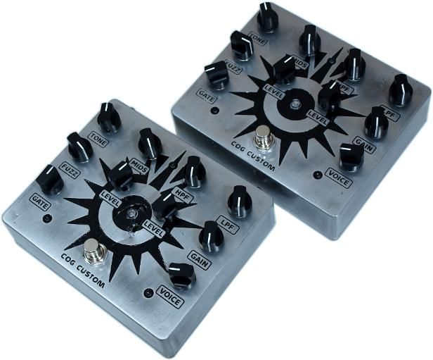 Cog Effects Custom Bass Guitar Distortion Pedal For Simon Francis