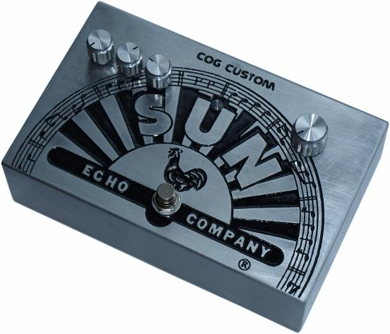 Cog Effects Custom Analogue-Voiced Digital Lo-Fi Delay With Variable High Pass Filter