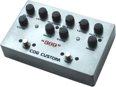 Cog Custom - Custom Effects Pedal - Custom Grand Tarkin Bass Fuzz - Engraved Enclosure