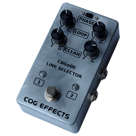 Cog Effects Custom Line Selector and Clean Blend Pedal