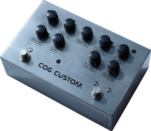 Cog Effects Custom Parallel Blended Bass Octave and Chorus