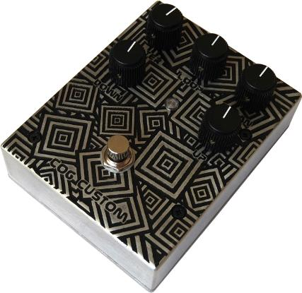 Cog Effects Custom T-65 Octave Pedal with CNC engraved