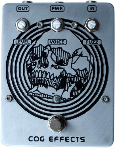 Cog Effects Custom Bass Guitar Effects Pedal Fuzz for Tim Commerford of Prophets of Rage