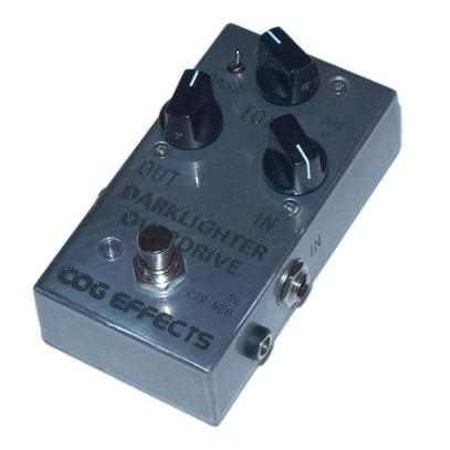 Cog Effects - Stock Effects Pedal - Darklighter Overdrive - Engraved Enclosure