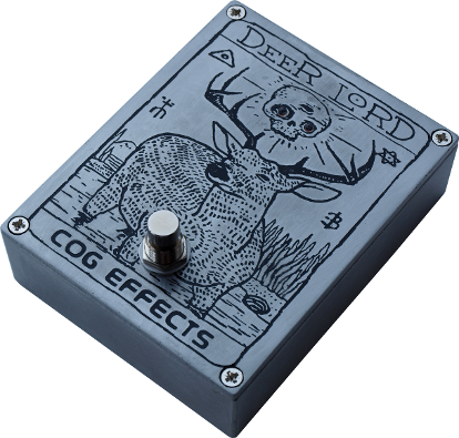 Cog Effects - Custom Etched Grand Tarkin Bass Fuzz with Deer Lord artwork