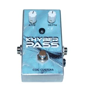 Cog Custom - Custom Effects Pedal - Khyber Pass Chorus - Printed Finish
