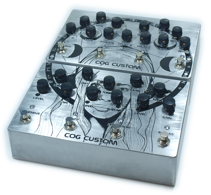 Custom Cog Effects Bass Multi Effect