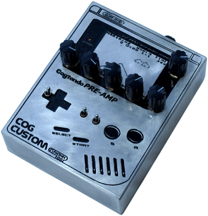 Cog Effects Cogtendo Nintendo Game Boy EQ Pre-Amp DI with Mario Artwork