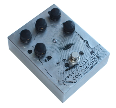 Cog Custom - Custom Effects Pedal - Harvey's Wallbanger Custom Grand Tarkin Bass Fuzz - Etched Enclosure