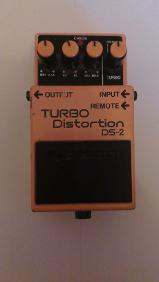 Boss DS-2 Distortion Modified to Become Cog Effects Knightfall Guitar and Bass Pedal