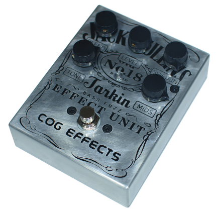 Cog Custom - Custom Effects Pedal - Jack Mullins Daniels Custom Grand Tarkin Bass Fuzz - Etched Enclosure