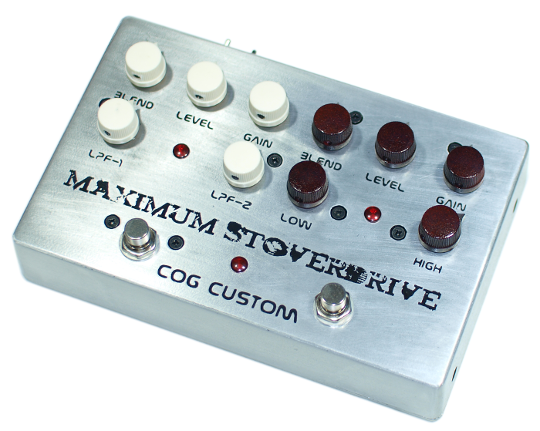 Cog Effects Custom Bass Overdrive and Distortion
