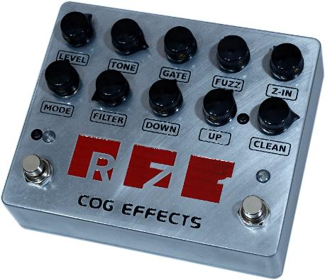 Cog Effects Custom RZ-1 Octave Fuzz T-65 Bass Guitar Effects Pedal