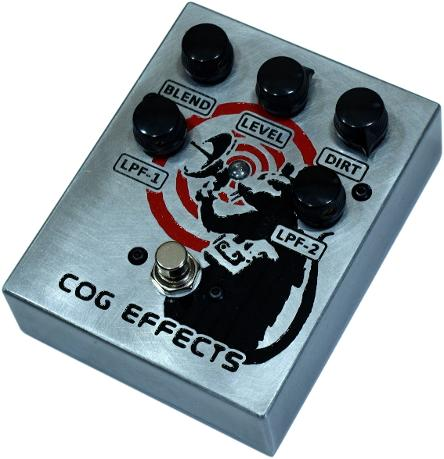 Cog Effects Custom Engraved Banksy Tribute Artwork Radar Rat TK-421-X Bass Distortion