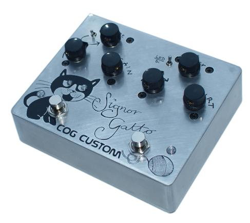 Custom Cog Effects Bass Overdrive and Distortion
