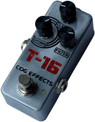 Cog Effects T-16 Analogue Octave Bass Guitar Effects Pedal