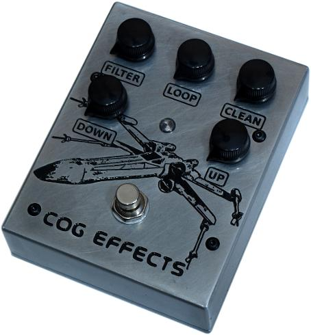 Cog Effects Custom T-65 Analogue Octave With Incom X-Wing Starfighter Engraved Artwork