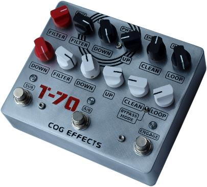 Cog Effects T-70 Analogue Octave Bass Guitar Effects Pedal
