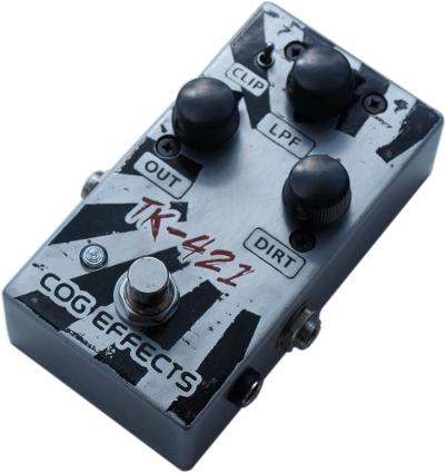 Cog Effects - Stock Effects Pedal - TK-421 Distortion