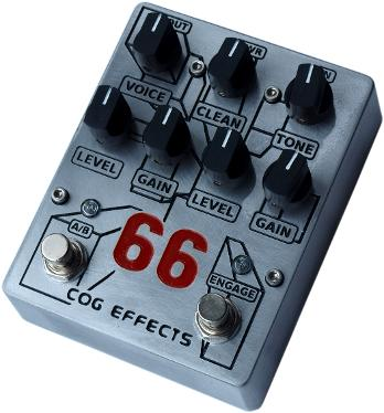 Cog Effects - Knightfall 66 Bass Overdrive - standard engraved enclosure